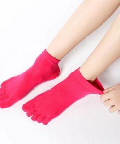 Anti Rutsch Yoga Socken mit Zehen