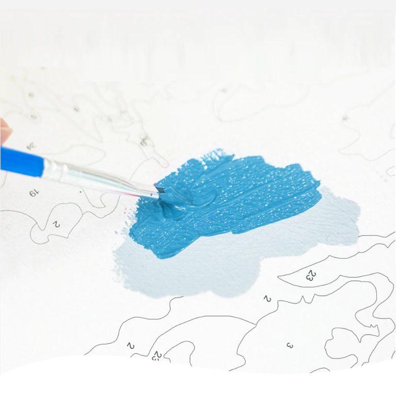 Malen nach Zahlen diverse Malvorlagen Schweiz