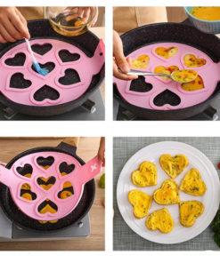Silikon Pfannkuchen Form Pfanne