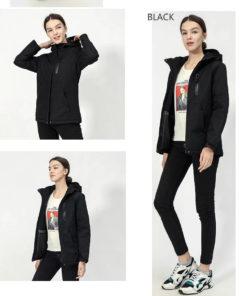 Beheizbare Jacke Damenjacke mit integrierter Heizung Schweiz