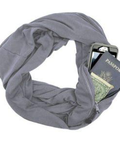 Damen Schal mit versteckter Tasche Schweiz