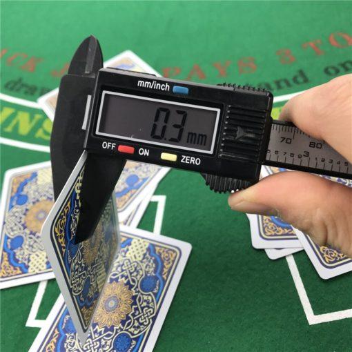 High End Profi Poker Karten PVC