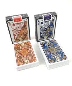 Profi Poker Karten PVC Plastik