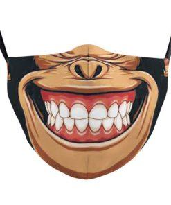 Lustige Affen Gesichtsmaske kaufen Schweiz