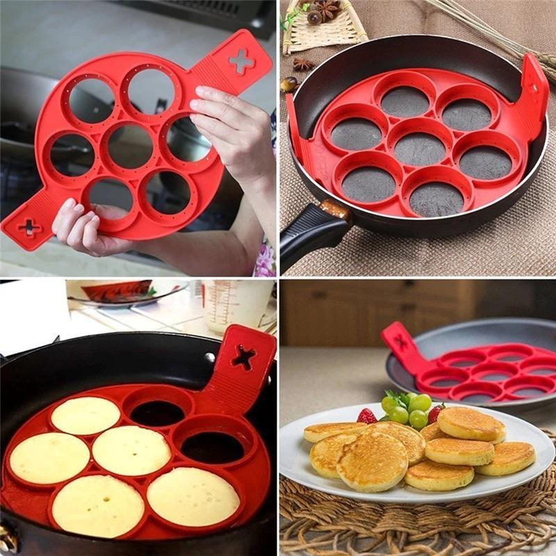 Pfannkuchen Pancake Form Silikon Schweiz