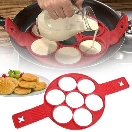 Silikon Pancake Form