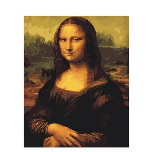 Malen nach zahlen Mona Lisa