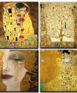Gustav Klimt Mal Vorlage Malen nach Zahlen