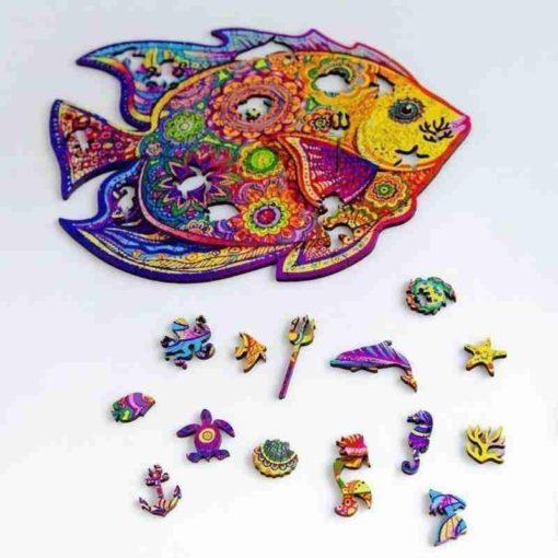 Tier Puzzle aus Tieren Fisch Schweiz