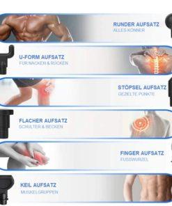 Massage-Gun mit Display Massagegerät
