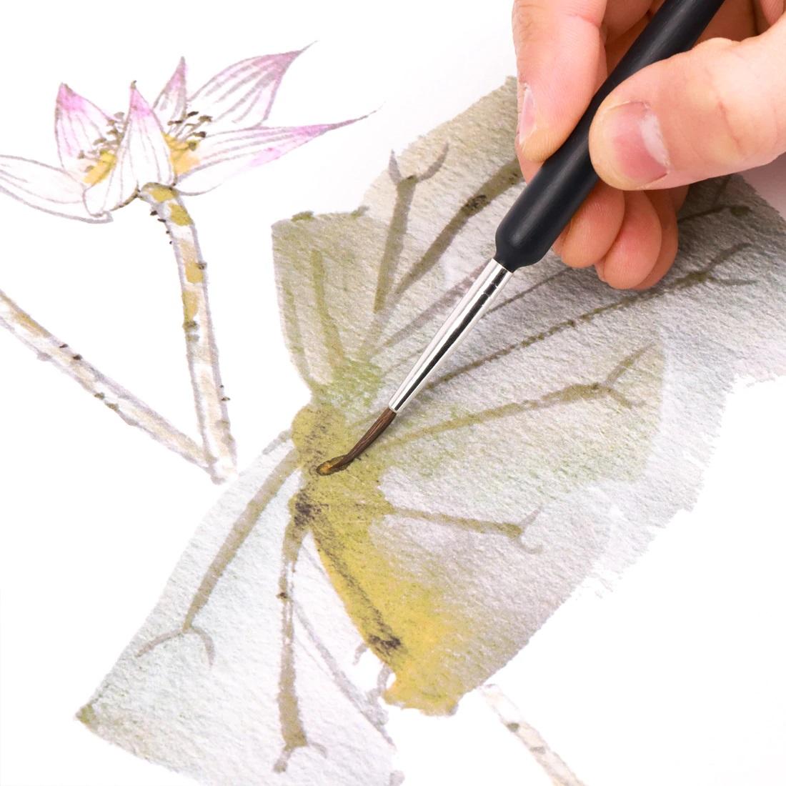 Pinsel Set Basteln Malen Pinsel für Wasserfarben