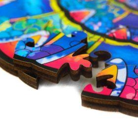 Puzzle aus Tierteilen Chamäleon
