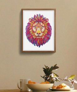 Puzzle aus Tierteilen Löwe kaufen