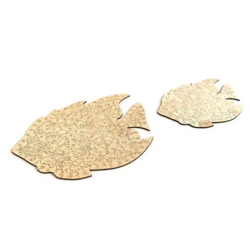 Fisch Puzzle aus Tierfiguren