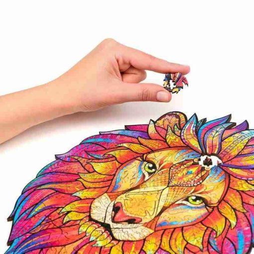 Magisches Puzzle aus Tieren Löwe kaufen Schweiz