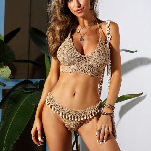 gehäkeltes Bikini Top