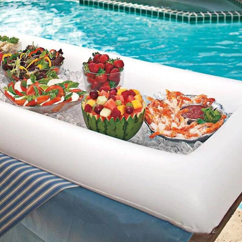 schwimmendes Pool Buffet aufblasbare Pool-Bar