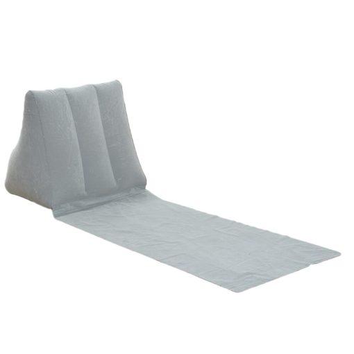Matte mit aufblasbarer Rückenlehne