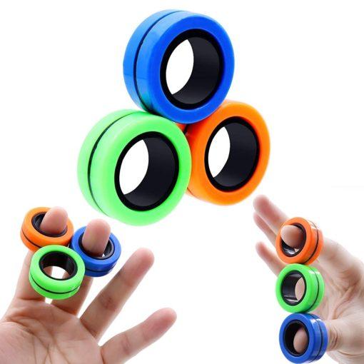 Magnetische Ringe Finger Spielzeug