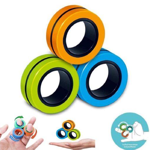 Magnetische Ringe Fidget Spielzeug Schweiz