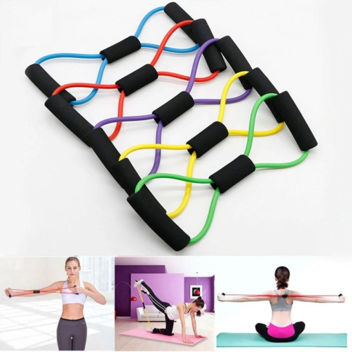 Fitness Widerstandsbänder mit Griff kaufen