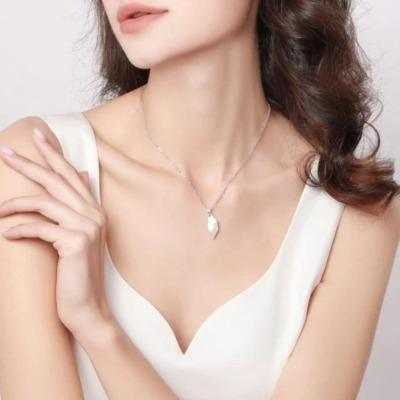 Partner Magnet Herz Halskette