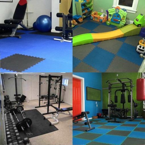 Sport Fitness Bodenmatten Set