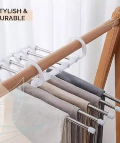 platzsparender mehrfach Kleiderbügel