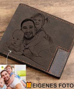 Portemonnaie mit Gravur Foto