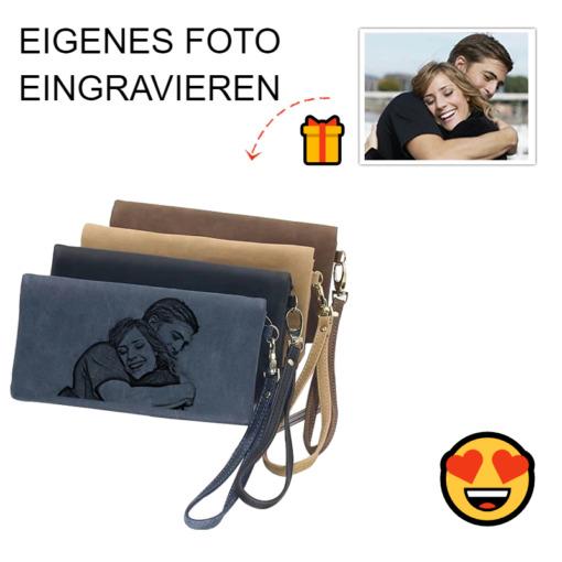 Portemonnaie Foto-Gravur