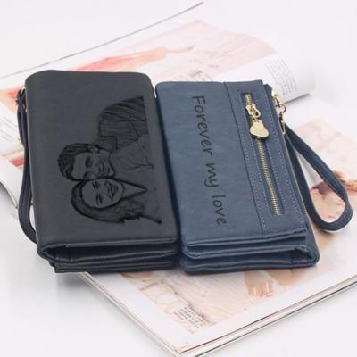 Portemonnaie eigenes Foto gravieren