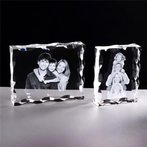 Foto-Gravur Kristall-Glasrahmen