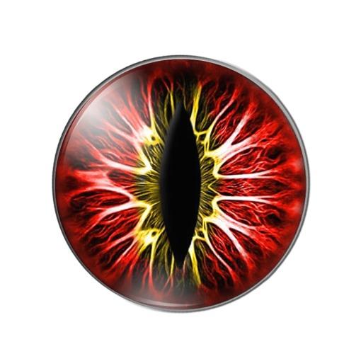 Bastel Drachen-Augen Katzenaugen