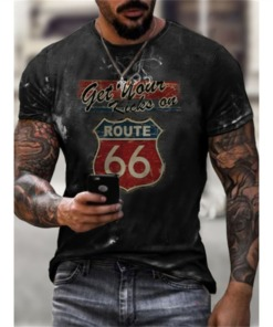 Herren T-Shirt Vintage