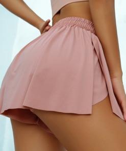 Mini-Rock mit Unterhosen Pants