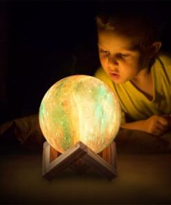 Galaxy Planet Licht Nachtlampe