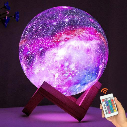 Galaxy Planet Nachtlicht