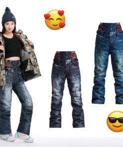 Jeans Skihose Damen