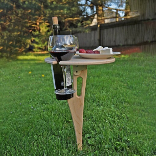 kleiner Picknicktisch Weintisch