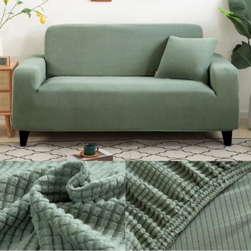 Stretch Sofabezug Grün