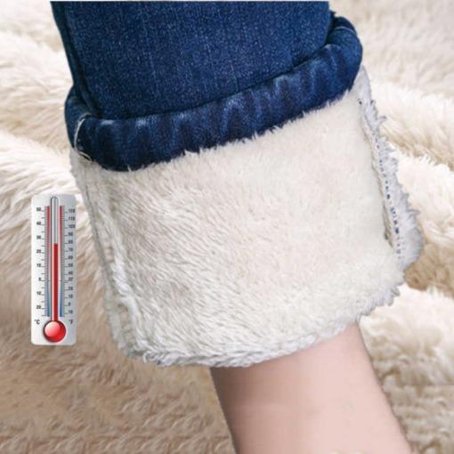 Winter Jeans mit Fütterung