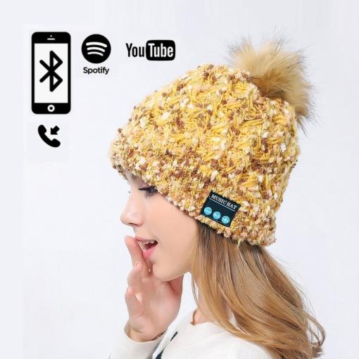 Wintermütze mit Bluetooth