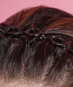 Haarreif mit Klammern